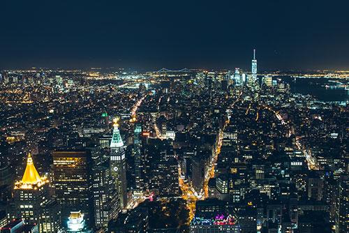 New York City at Night Best Digital Marketing agency