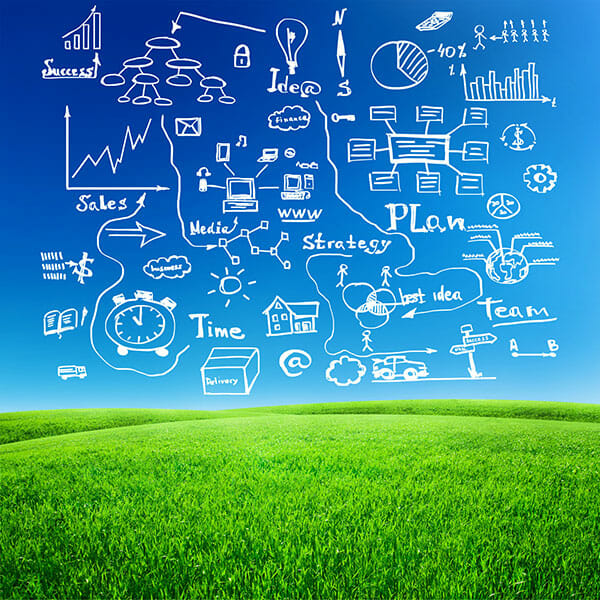 Digital Marketing Plan Graphic