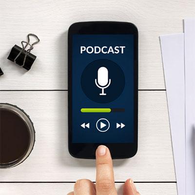 podcast listen graphic