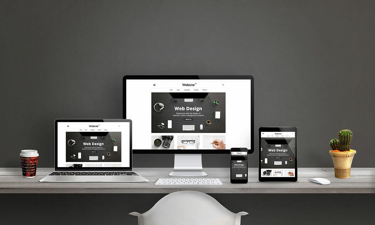 website design image