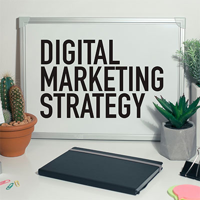 digital marketing strategy graphic