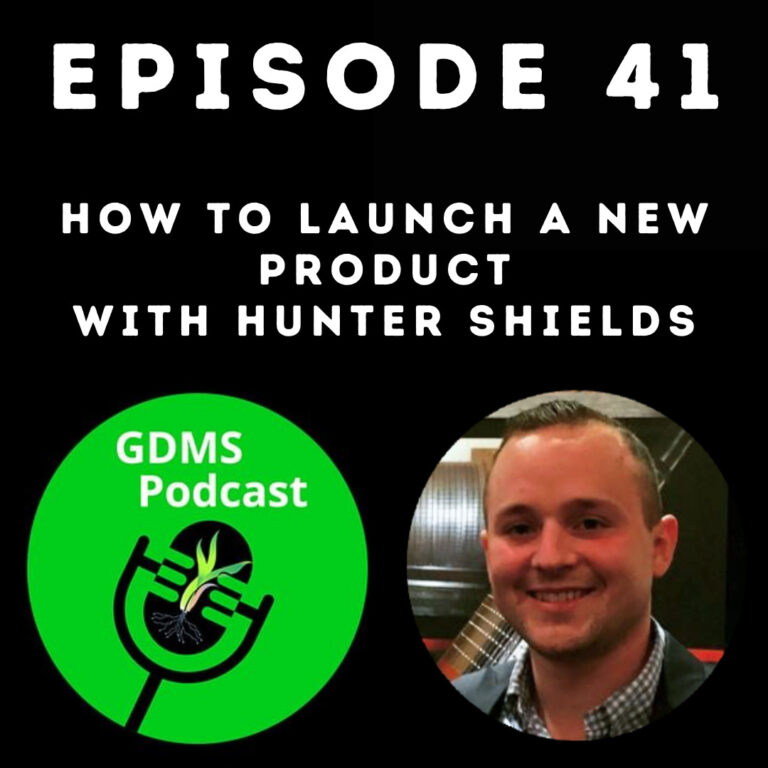 Episode 41 Cover - How to Launch a New Product with Hunter Shields