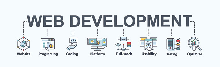 web development graphic